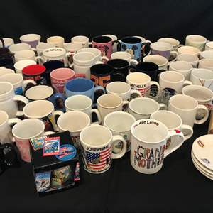 Lot # 215 - Large Variety of Coffee Mugs