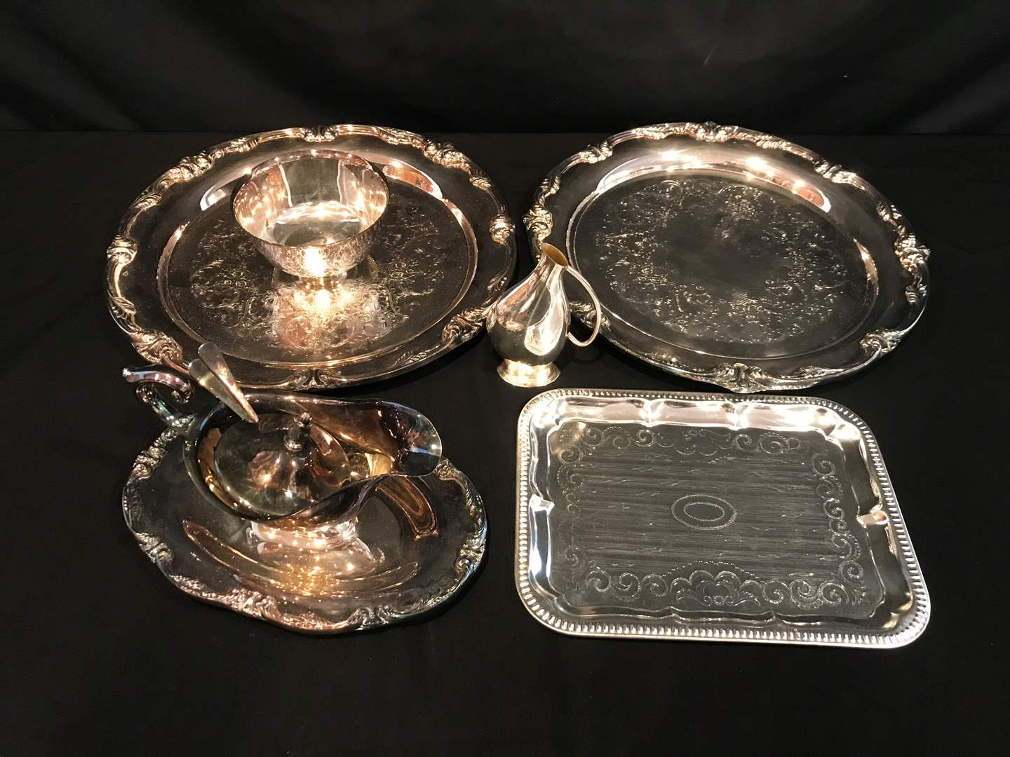 Lot # 216 - Silver Plated Items (main image)