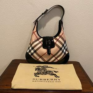 Lot # 257 - Like New Burberry Purse w/Dust Cover