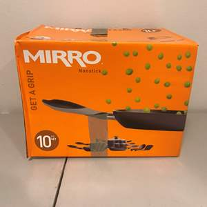 Lot # 282 - New in Box Mirro 10 Piece Set of Pots & Pans