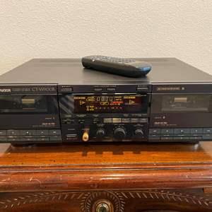 Lot # 268 - Pioneer CT-W900R Double Cassette Deck - Powers On