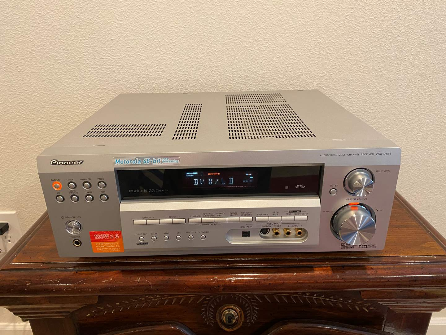 Lot # 270 - Pioneer VSX-D814 Multi-Channel Receiver - Powers On (main image)