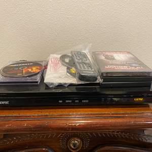 Lot # 274 - Sabre DVD Player w/DVD's