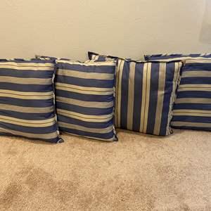 Lot # 310 - Four Large Throw Pillows