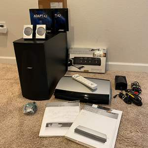 Lot # 266 - Bose Lifestyle - 38 DVD Player, Bose Lifestyle VS-1 Video Expander, Bose Speakers & More..