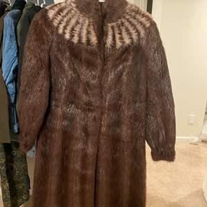 Lot # 314 - Faux Fur Coat - Size 38
