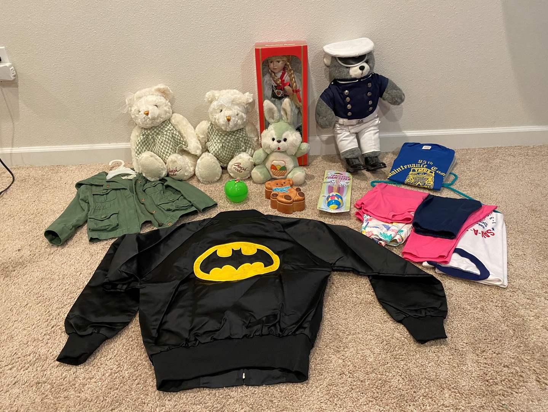 Lot # 317 - Girls Clothing, Stuffed Animals, Dolls & More.. (main image)