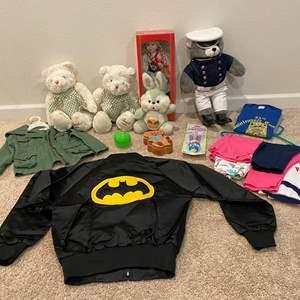 Lot # 317 - Girls Clothing, Stuffed Animals, Dolls & More..
