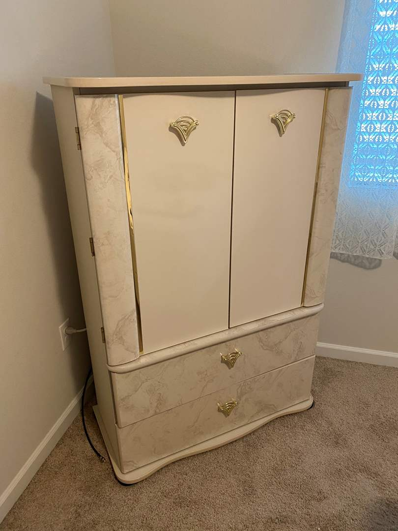 """Lot # 326 - Matching Armoire From """"Pilliod Furniture"""" (main image)"""