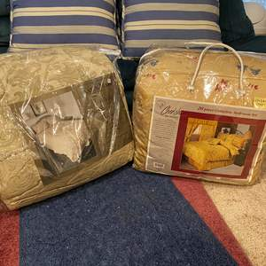 Lot # 350 - One New King Size Bedding Sets & One New Queen Size Set - See Pictures for Details