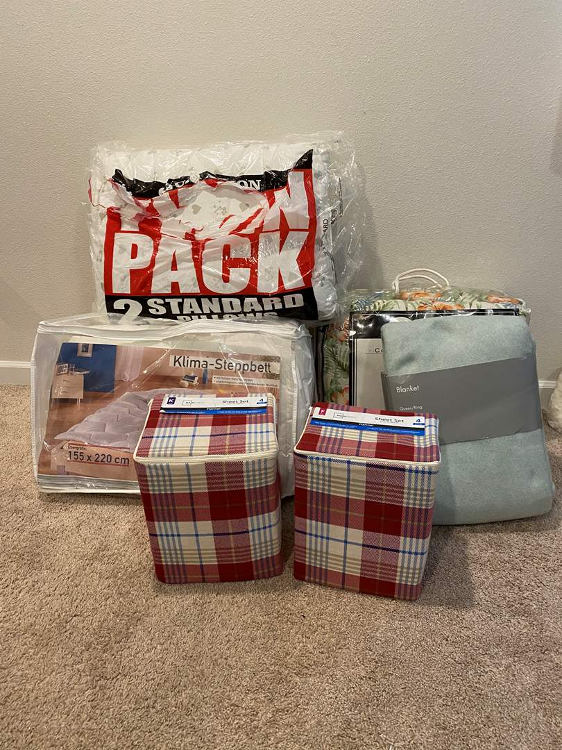 Lot # 353 - New Comforter Sets, New Sheet Sets & New Pillows (main image)