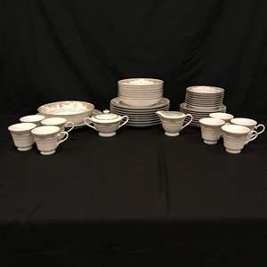 Lot # 61 - Beautiful Set of SEIZAN Fine China - 45 Pieces