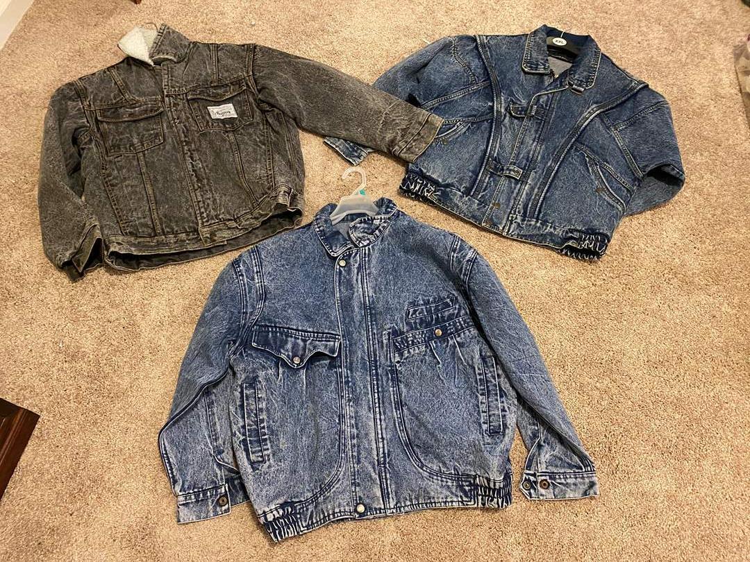 Lot # 124 - Three Jean Jackets in Great Shape (main image)