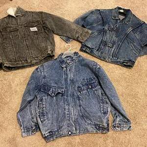 Lot # 124 - Three Jean Jackets in Great Shape