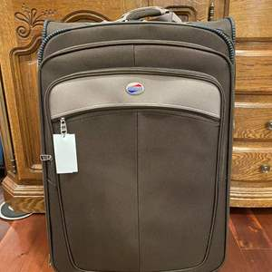 """Lot # 143 - Brand New 3 Piece Set of """"American Tourister"""" Luggage"""