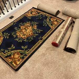 Lot # 368 - Five Rugs of Various Sizes