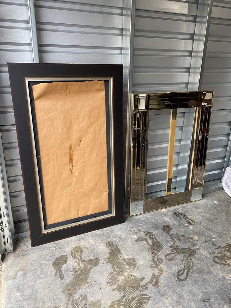 Lot # 35 - 2 Large Frames (main image)