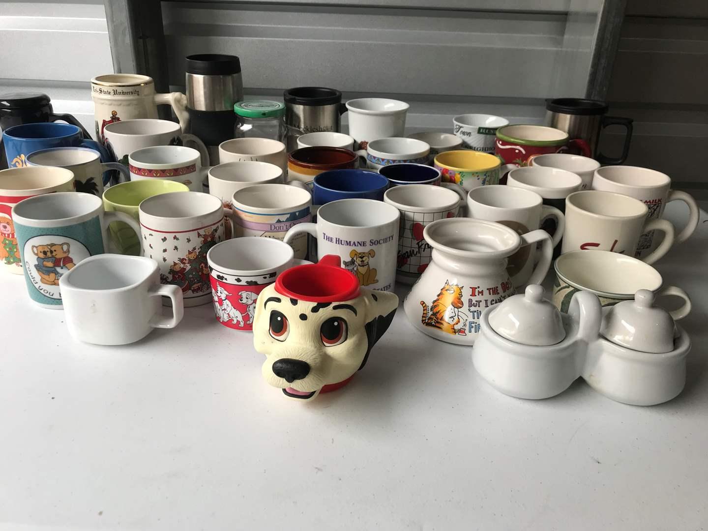 Lot # 47 - Large Selection of Coffee Mugs (main image)