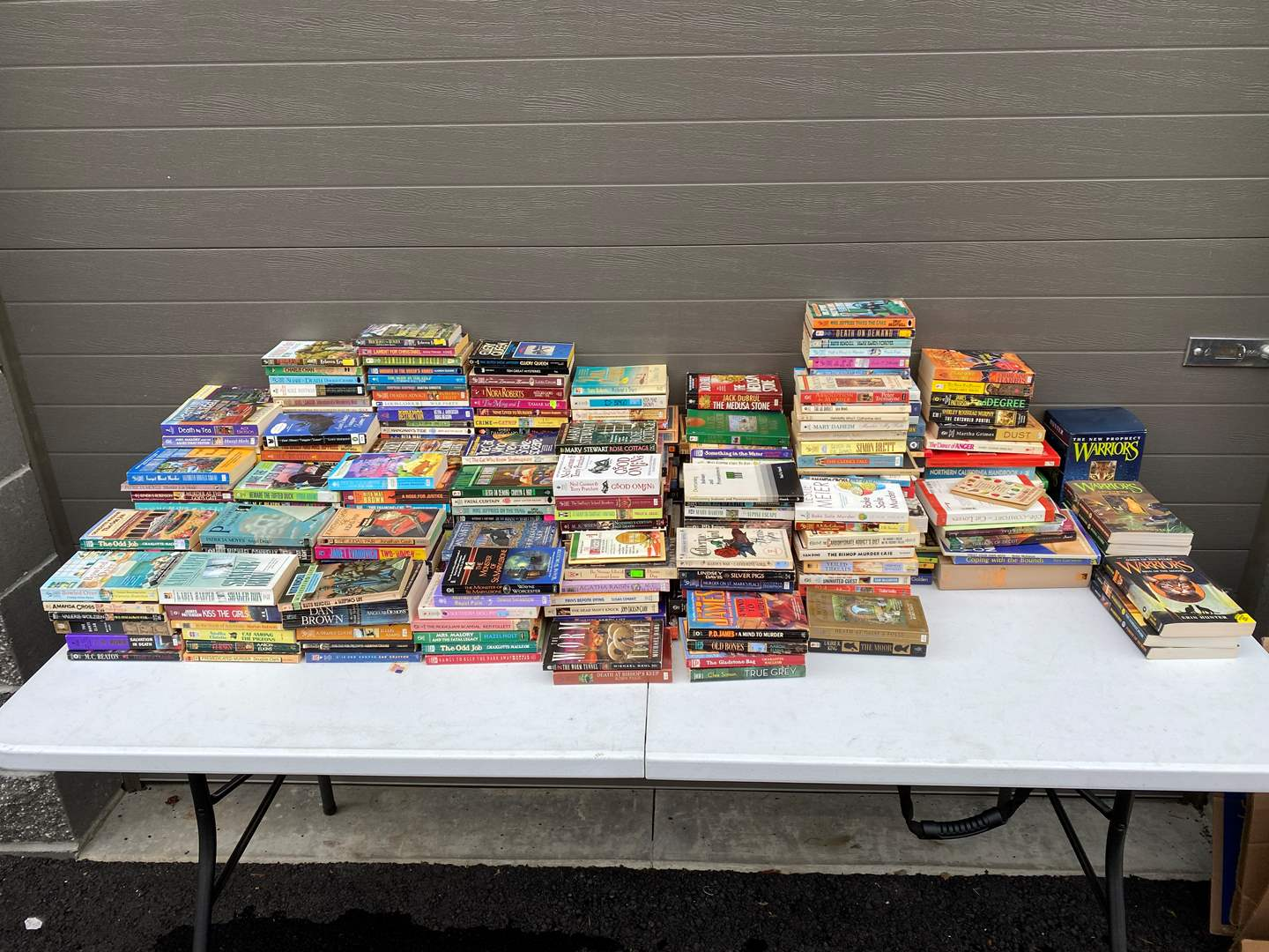 Lot # 91 - Large Collection of Paperback Novels - See Pictures for Details (main image)