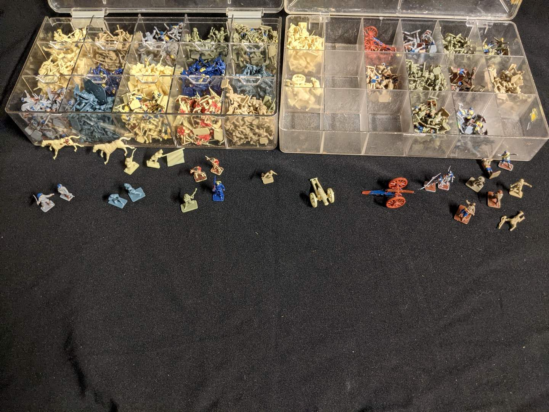 "Lot # 104 - Miniature 1"" Military Action Figures (Across Wars) (main image)"