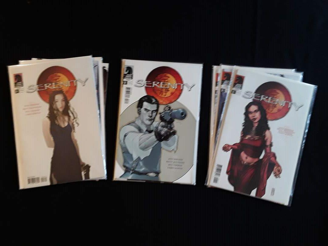 Lot # 95 - Lot of (9) Serenity Comic Books (main image)