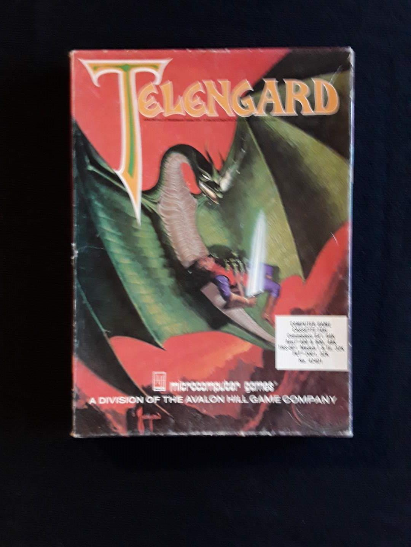 Lot # 96 - Vintage Telengard Fantasy DND Computer Game (1984) (main image)