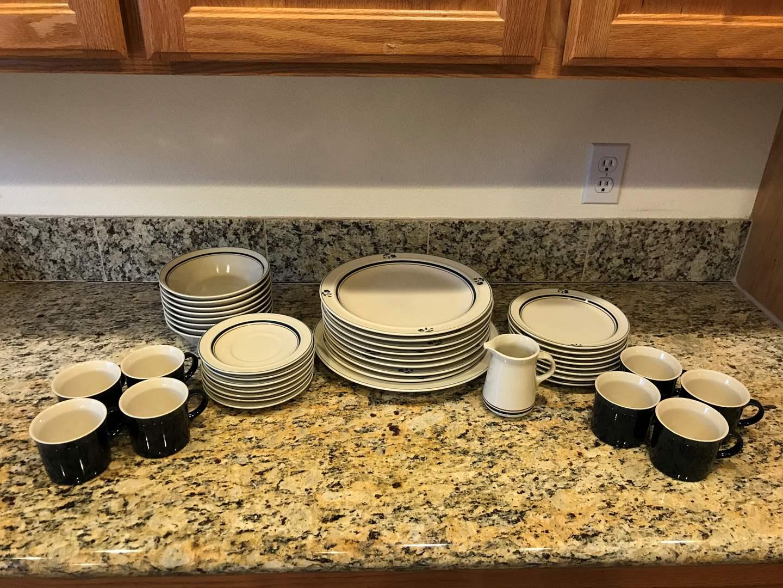 Lot # 52 - Beautiful 41 Piece Set of Epoch Dinnerware  (main image)