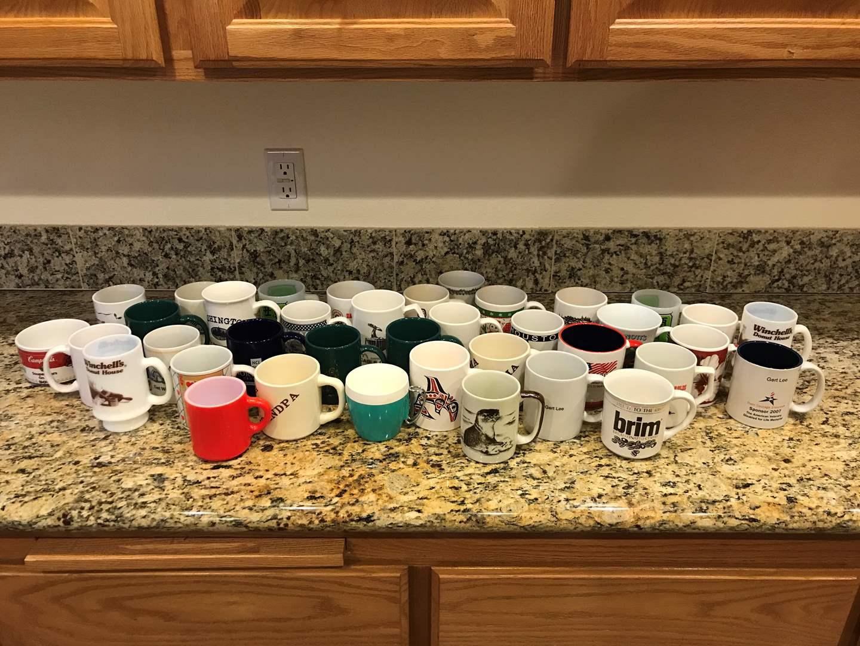 Lot # 72 - Large Selection of Coffee Mugs (main image)