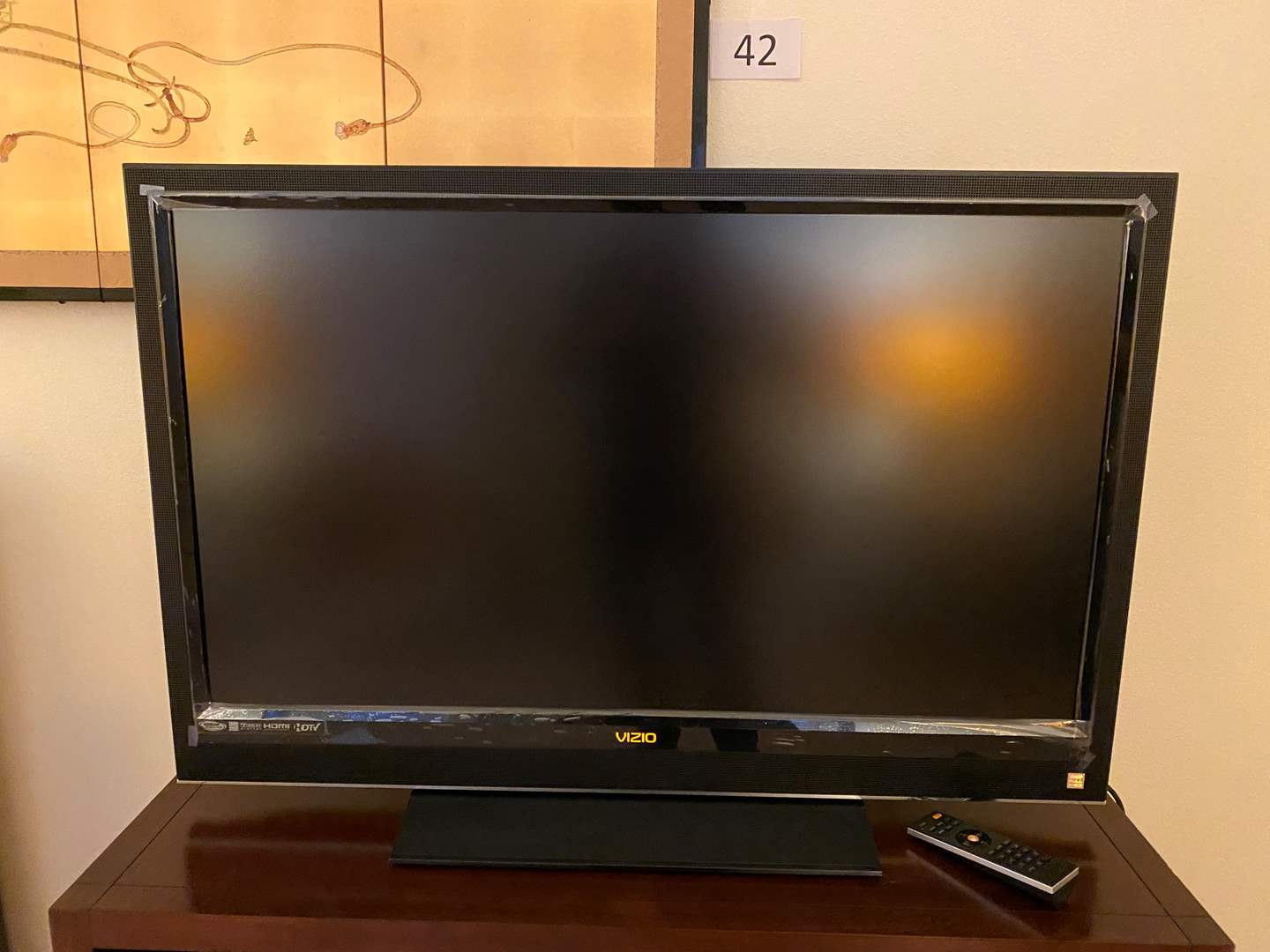 "Lot # 43 - Vizio 42"" HDTV - Works (main image)"
