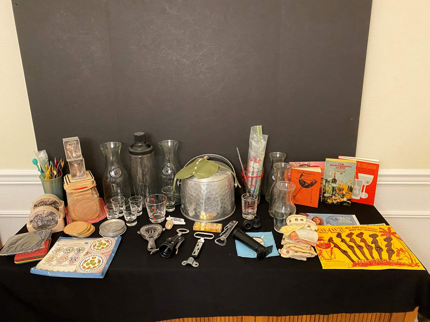 Lot # 113 - Misc. Selection of Vintage Barware (main image)