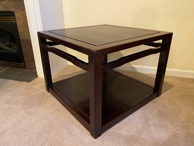 Lot # 126 - Nice Cherry Wood Table  (main image)