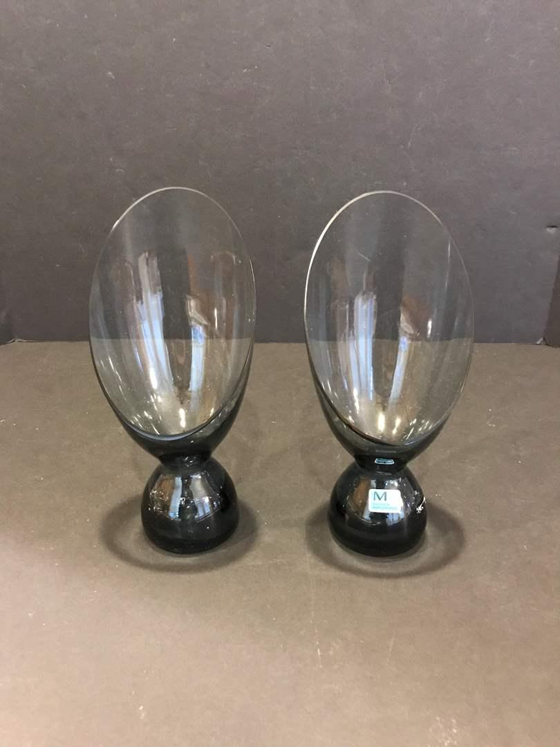 Lot # 93 - Two Vintage Morgantown Glasses (main image)
