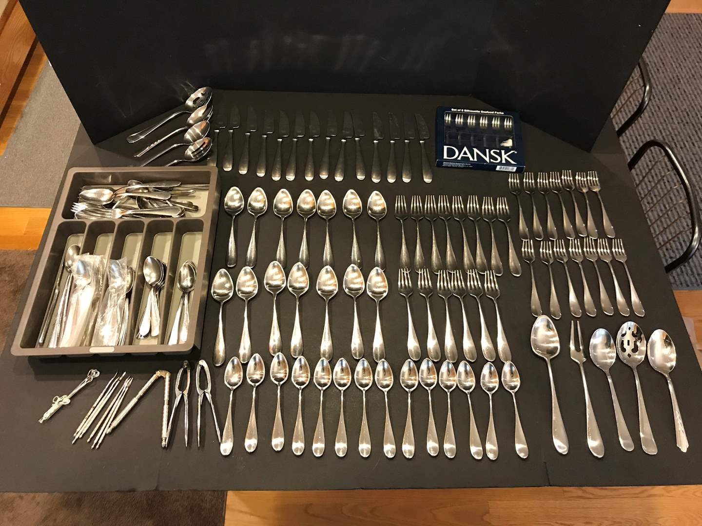 Lot # 94 - Very Nice Set of Dansk Flatware & Misc. Flatware (main image)