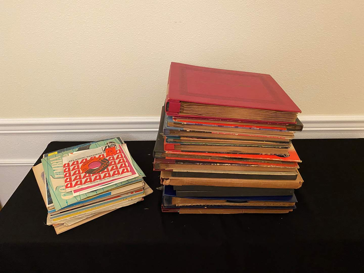 Lot # 140 - Vintage Records of All Sizes (main image)