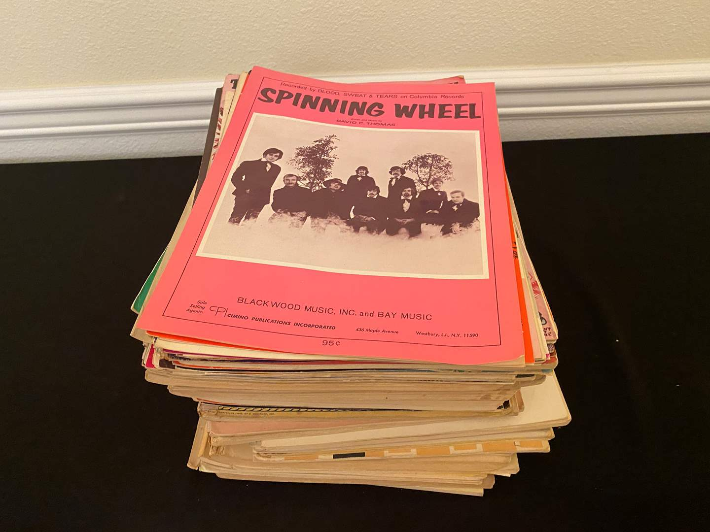 Lot # 141 - Collection of Vintage Sheet Music (main image)