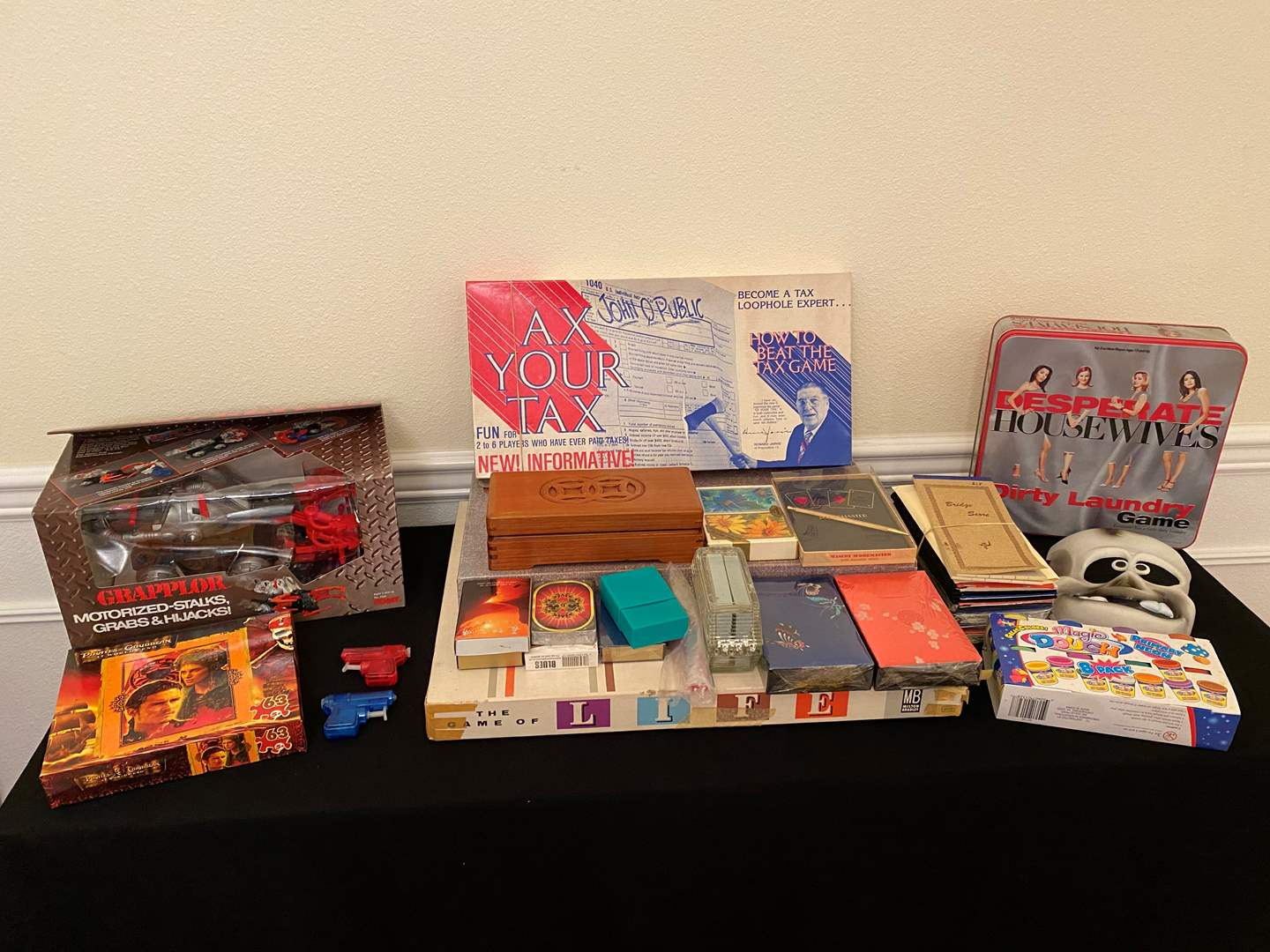 Lot # 144 - Vintage New in Box & Like New Toys, Board Games, Cards & More.. (main image)