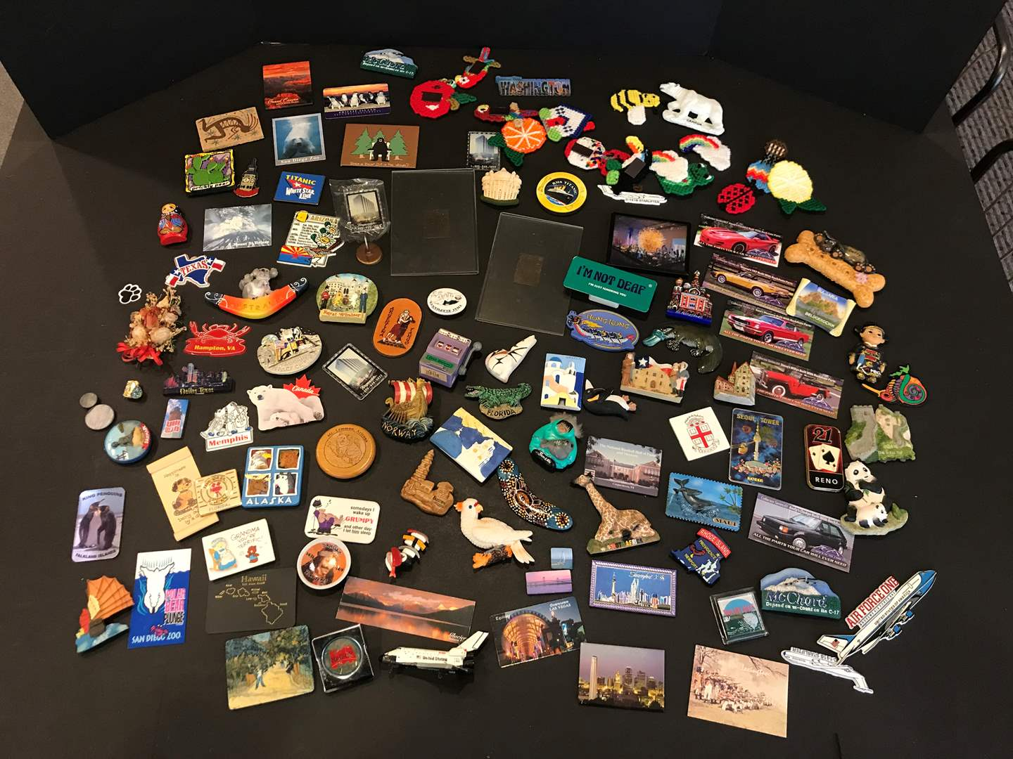 Lot # 154 - Large Collection of Magnets  (main image)