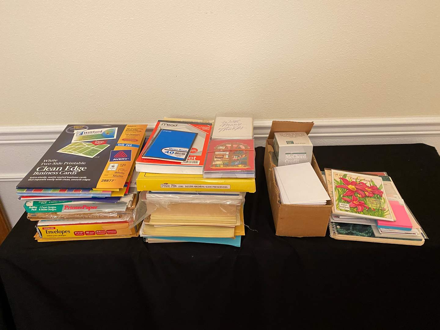 Lot # 161 - Office Paper Products of Various Kinds (main image)