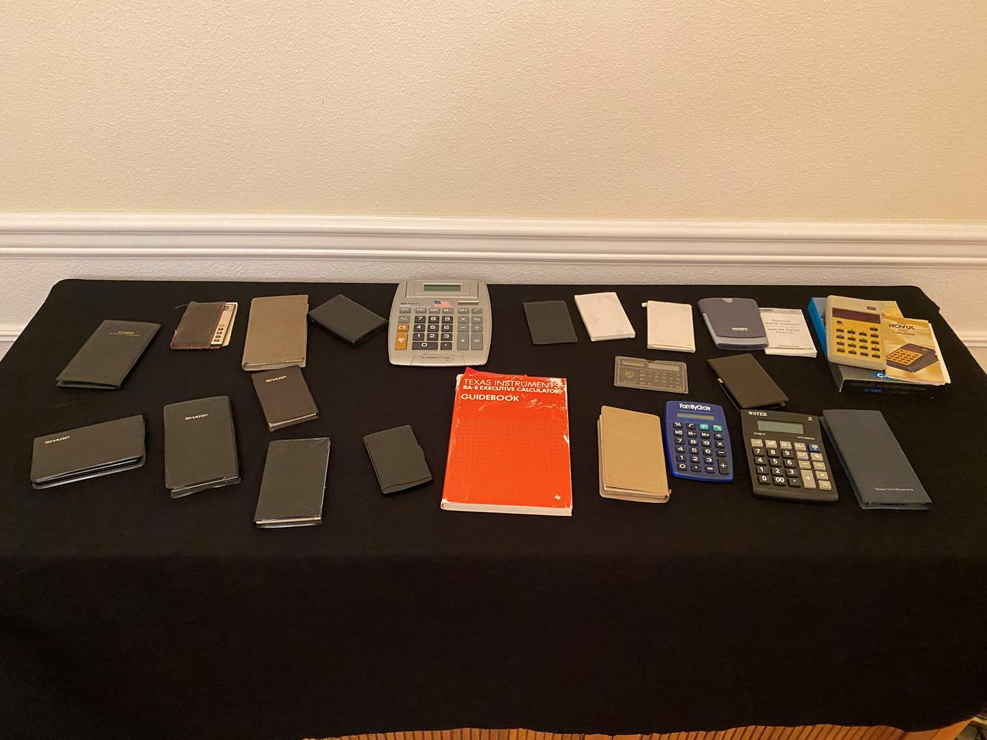 Lot # 165 - Collection of Vintage Calculators  (main image)