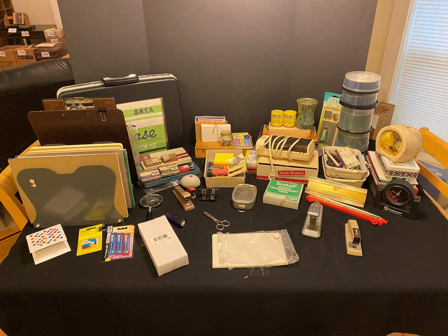 Lot # 167 - Nice Selection of Vintage Office Supplies (main image)