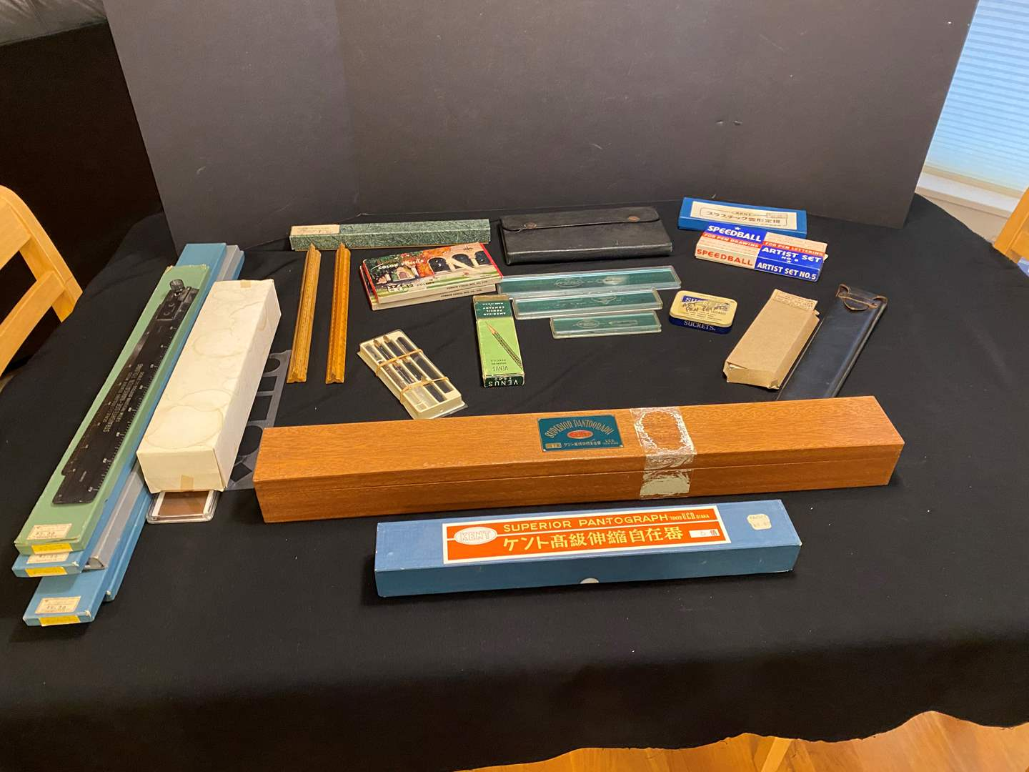 Lot # 168 - Misc. Vintage Drafting Items (main image)