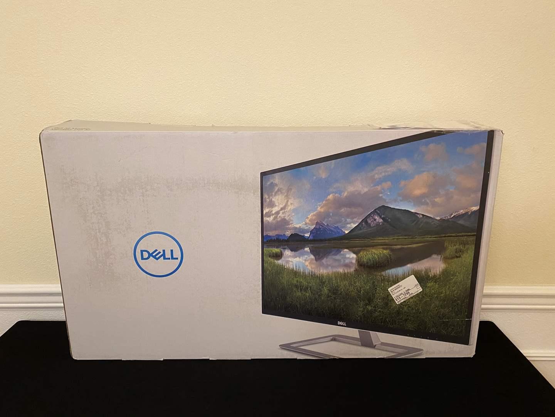 "Lot # 171 - New in Box 32"" Dell HDMI Monitor Model - D3218HN (main image)"