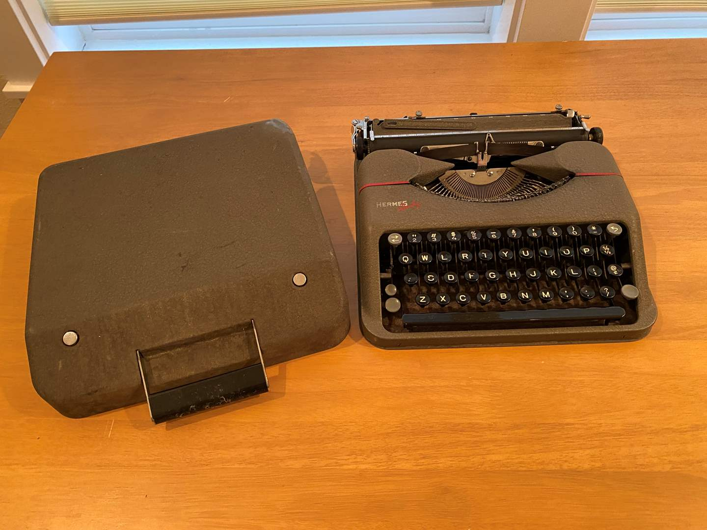 Lot # 178 - Vintage Hermes Baby Typewriter - Great Condition  (main image)
