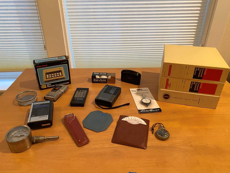 Lot # 197 - Sony Walkman, Pocket Walkman, Slide Trays & More.. (main image)