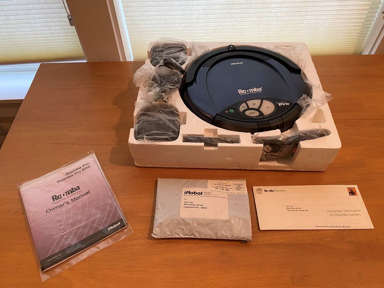 Lot # 219 - Lightly Used Robot Roomba Pro Robotic Floor Vacuum (main image)
