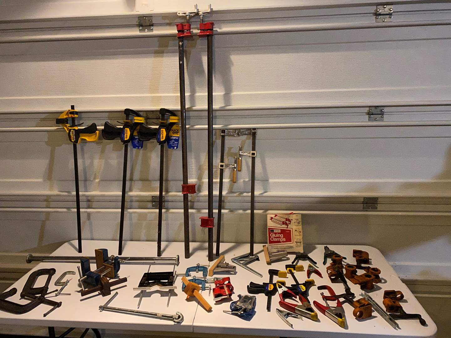 Lot # 337 - Misc. Selection of Clamps (main image)