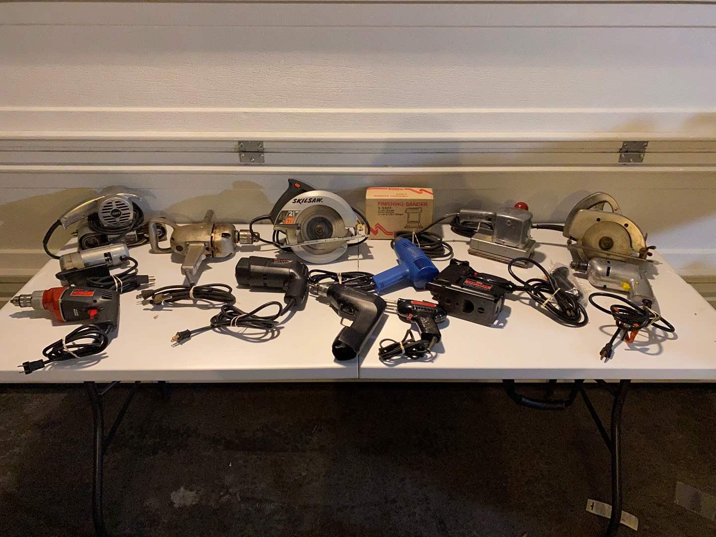 Lot # 338 - Collection of Vintage & Modern Power Tools (main image)