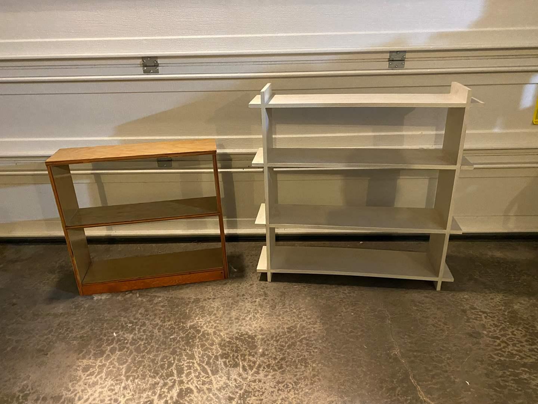 Lot # 366 - Two Wood Shelves  (main image)
