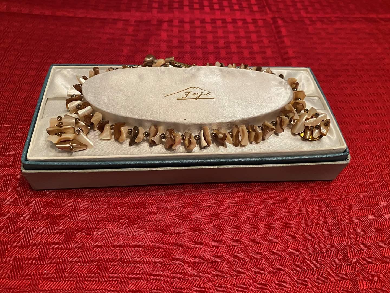 Lot # 287 - Nice Vintage Fuji Jewelry Set. (main image)
