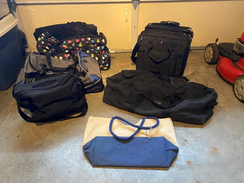 Lot # 107 - Laptop Bag, Rolling Briefcase, Duffel Bags & More.. (main image)